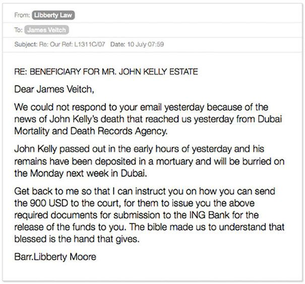 Email Exchange With A Scammer Turned Into A Hilarious Story (27 pics)