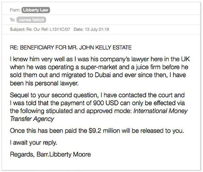 Funny Email: Email Exchange With A Scammer Turned Into A Hilarious