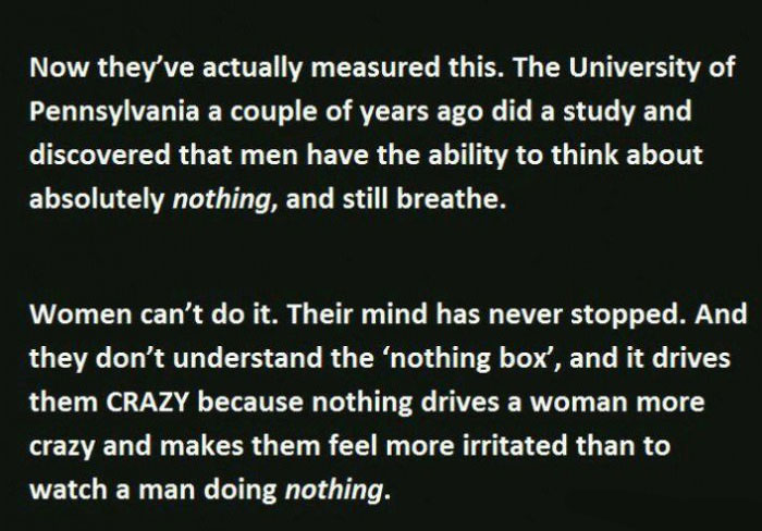 Why Do Men And Women Think Differently?  (4 pics)