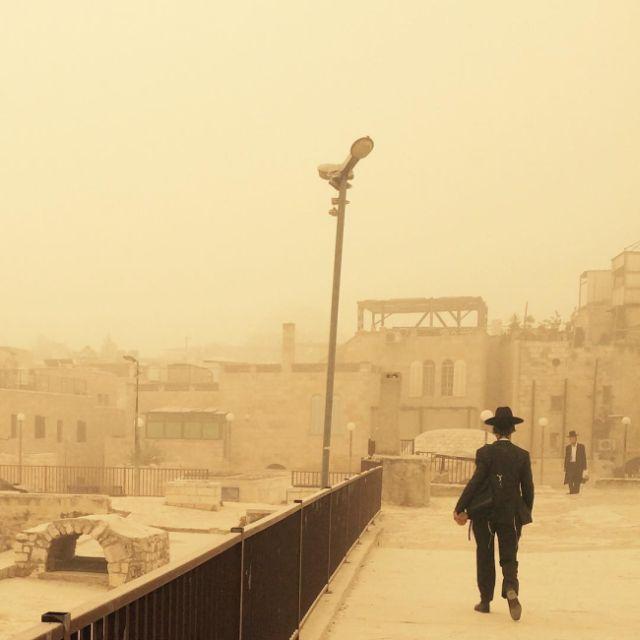 Sandstorm In Israel (21 pics)