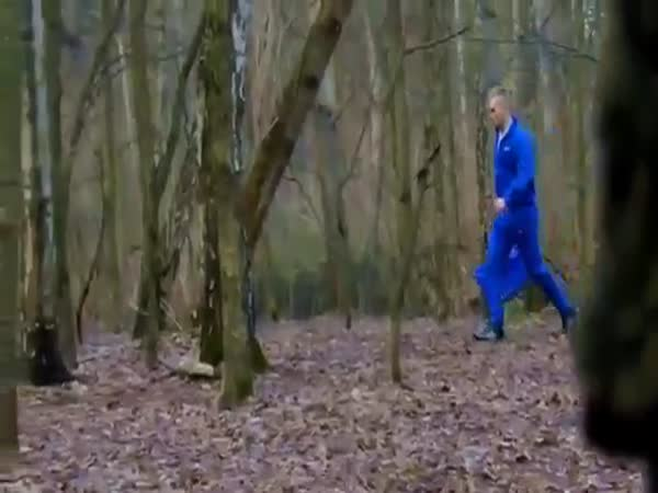 Scary Prank In The Forrest