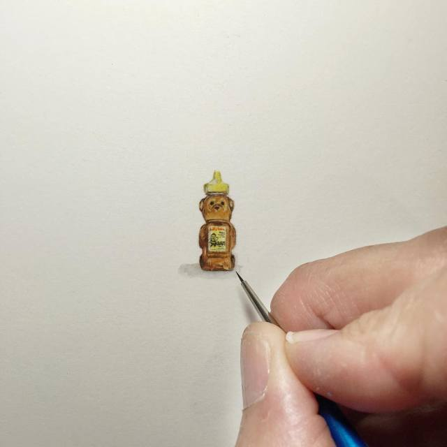 Tiny Paintings By Karen Libecap (32 pics)