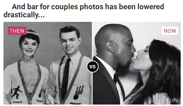 Dating Then And Now (9 pics)