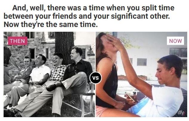 Evolution dating