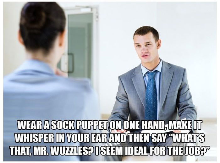 How To Succeed at Job Interviews (11 pics)