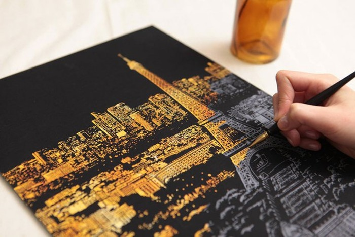 Coloring for Adults (9 pics)