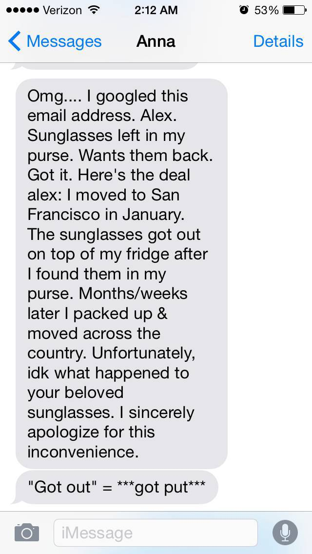 This Guy Wants His Sunglasses Back Really Bad (40 pics)
