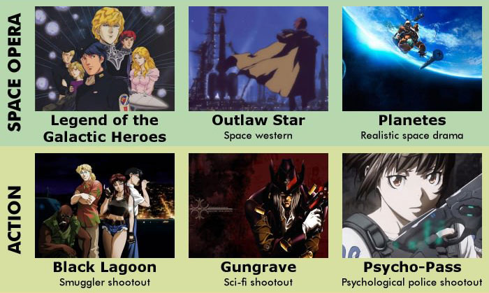 9 Categories Of Anime Made For Adults (4 pics)
