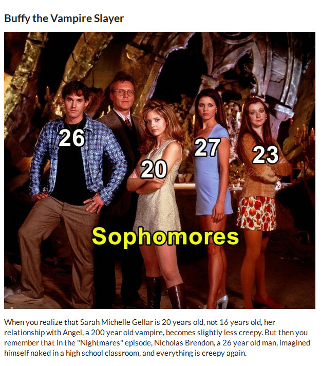 These Actors Were Way Too Old To Play High Schoolers (9 pics)
