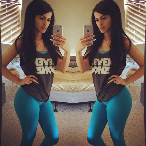 Girls Always Look Drop Dead Gorgeous In Yoga Pants (62 pics)
