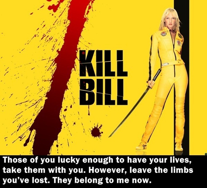 The Most Memorable Quotes From Bad Ass Action Movies (32 pics)