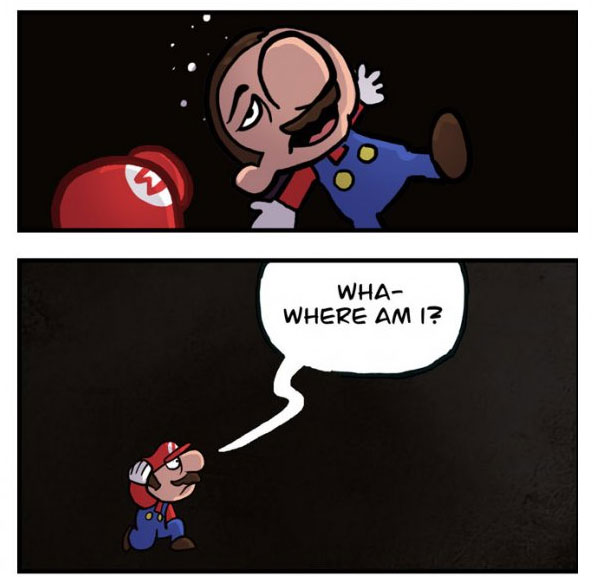Mario's Has Been Hiding A Frightening Secret All These Years (6 pics)