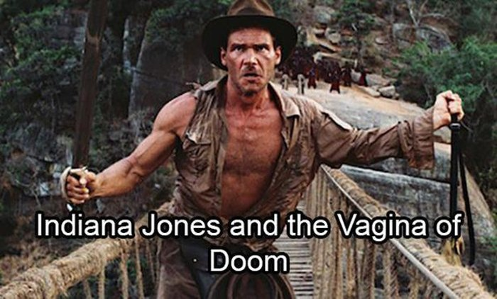 Movie Titles Sound A Lot Funnier When You Replace The Words With Vagina (24 pics)