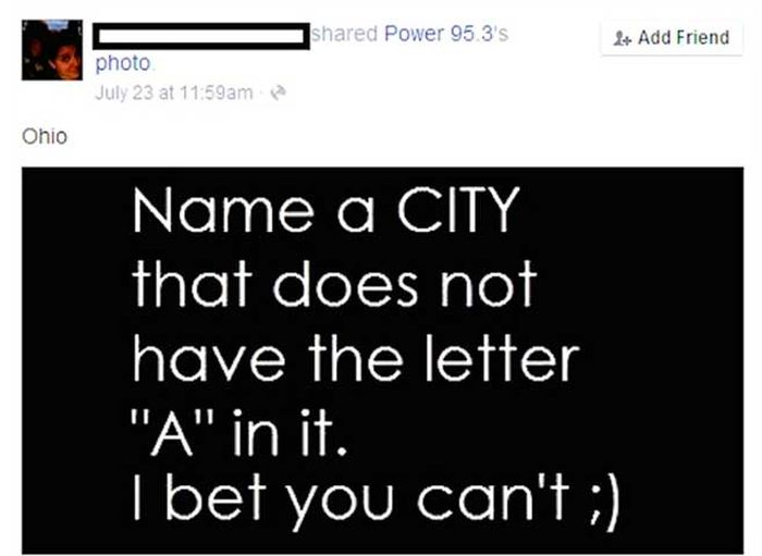 Facebook Fails That Are Almost Too Stupid To Comprehend (15 pics)