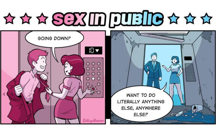 What Every Sexual Fantasy Would Actually Look Like In Real Life (5 pics)