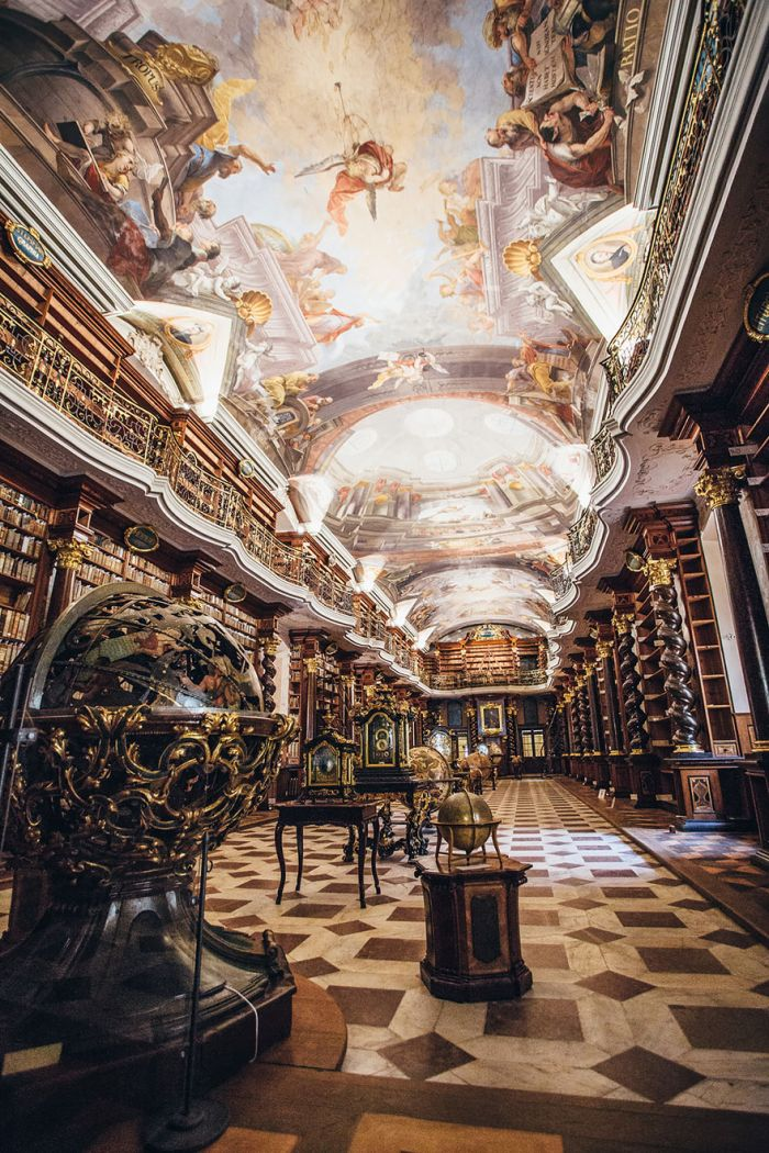 The Czech Republic Is Home To The World's Most Beautiful Library (7 pics)