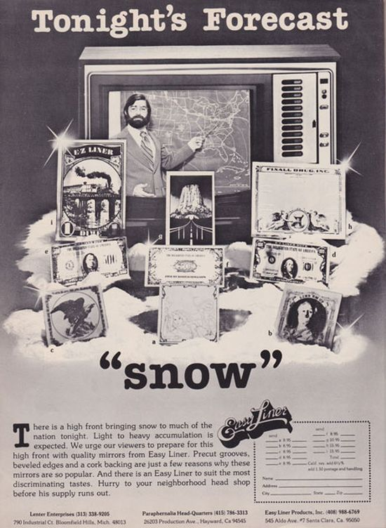 Cocaine Accessory Advertisements Prove The 70s Were A Very Different Time (23 pics)