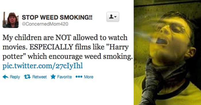 There's No Escaping This Internet Troll That Wants You To Stop Smoking Weed (9 pics)