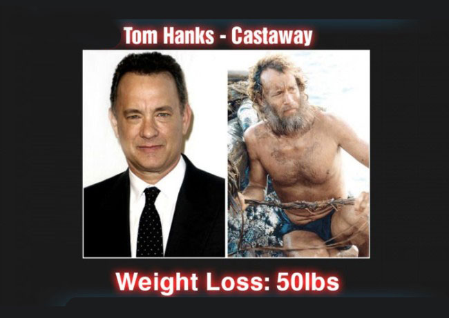 Actors Who Completely Transformed Themselves For Movie Roles (17 pics)