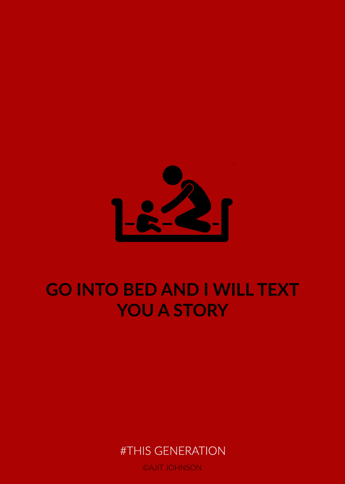 Brutally Honest Posters Show The Dark Side Of Technology Addiction (40 pics)
