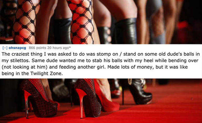 11 Strippers Share Messed Up Stories From The Workplace (11 pics)