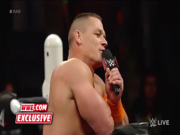 John Cena Celebrates 7-Year-Old Girl Who Beat Cancer