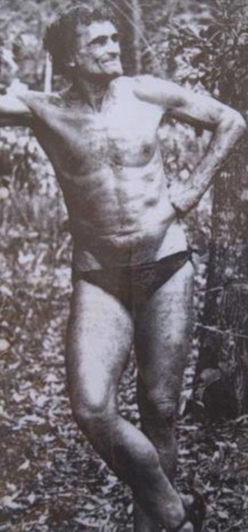 Meet The Man Who's Been Dubbed The Real Life Tarzan (5 pics)