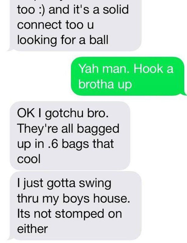 Guy Makes Horrible Mistake And Gets Arrested After Texting The Wrong Number (6 pics)