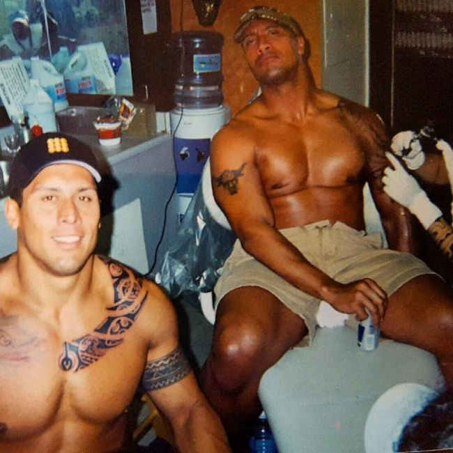 Meet The Rock's Stand In Double Who's Also His Cousin (11 pics)