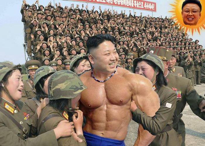 Kim Jong-Un And Photoshop Just Go So Well Together (17 pics)