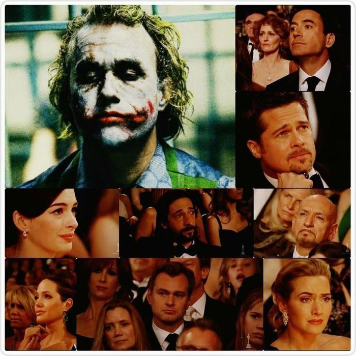 How Hollywood Reacted When It Was Announced Heath Ledger Won An Oscar