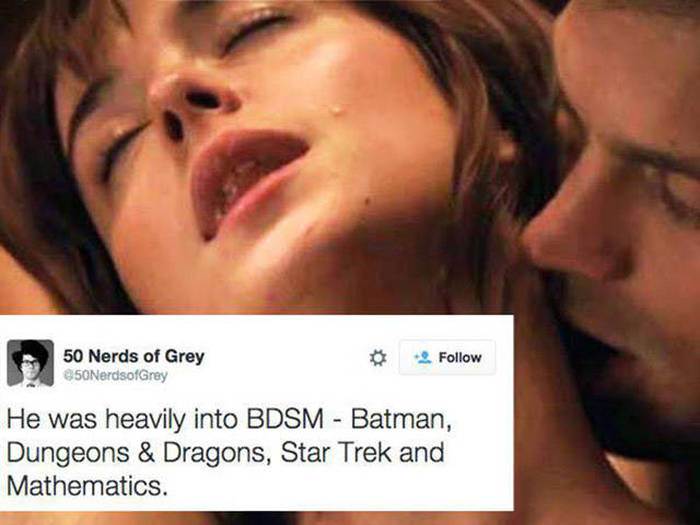 50 Nerds Of Grey Is The Twitter Account The World Needed (17 pics)