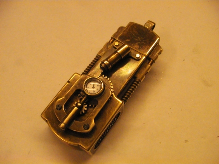 DIY USB Flash Drive With Moving Parts (37 pics + video)