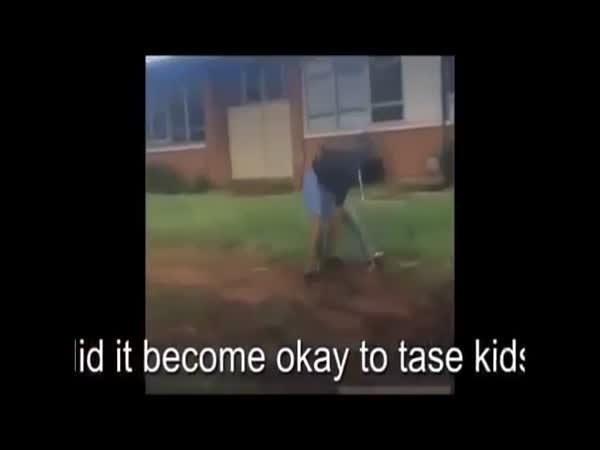 Georgia Cop Shoots Fighting Schoolboys With A Taser