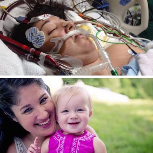 Meet The Newborn Baby That Brought His Mother Back To Life (5 pics)