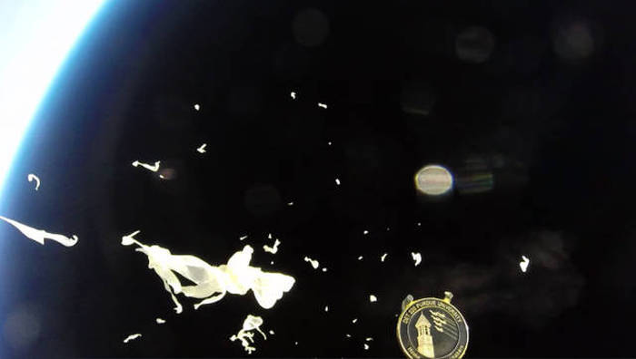 GoPro Camera Floats All The Way Up To Outer Space (10 pics)