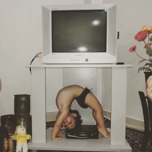 Two Year Old Kid Is Already A World Class Gymnast (15 pics)