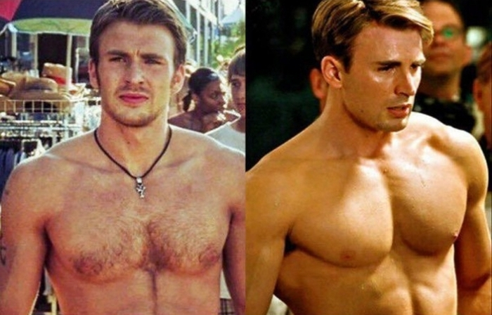 Marvel Actors Get Unbelievably Ripped For Their Roles (7 pics)