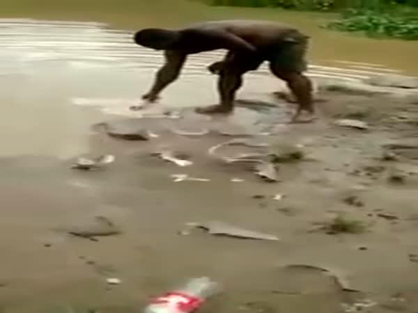 Strange Way To Fish
