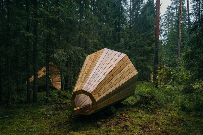 These Estonian Students Built Giant Wooden Megaphones, Find Out Why (10 pics)