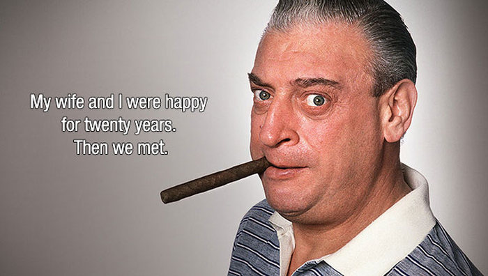 A Look Back At Some Of Rodney Dangerfield's Best Jokes (13 pics)