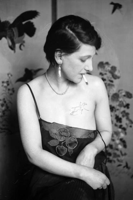 Vintage Pictures That Capture The Golden Age Of Tattoos (30 pics)