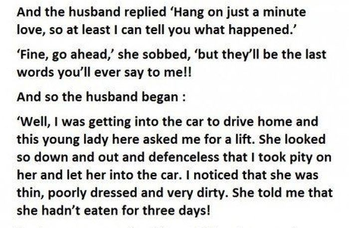 Cheating Husband Has A Hilarious Response For His Furious Wife (5 pics)