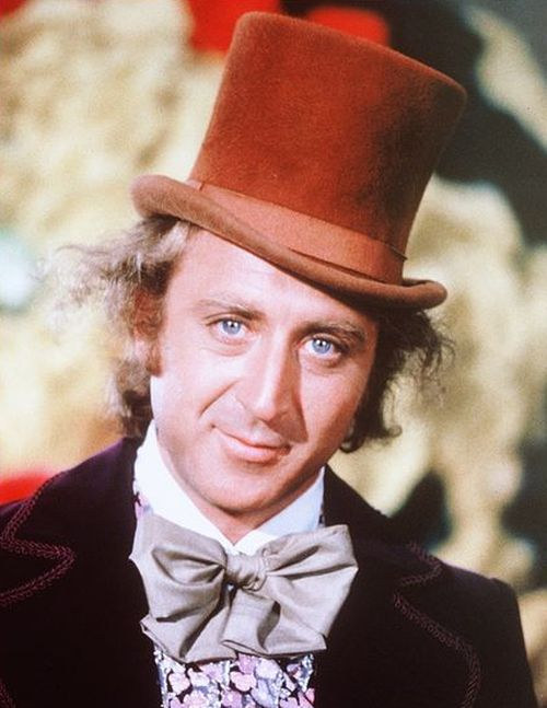 Gene Wilder Back In The Day Today (2 pics)