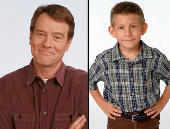 Proof That Bryan Cranston Is An Awesome Dad (2 pics)