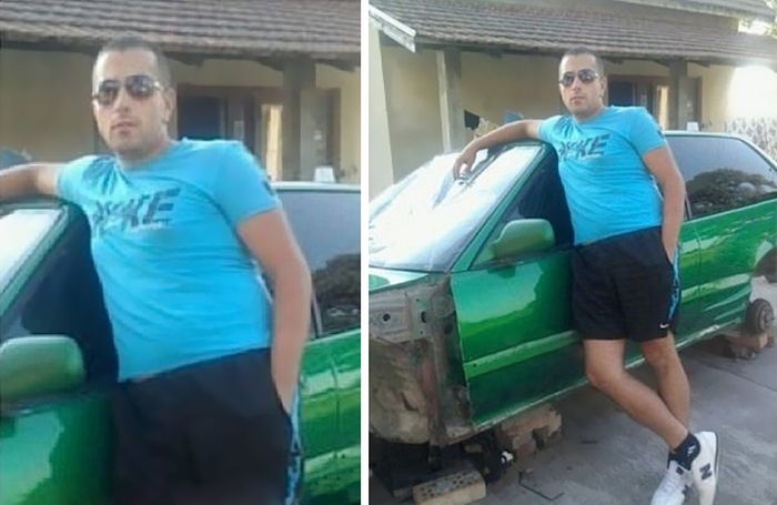 Cropping Completely Changes The Story In These Funny Photos (28 pics)
