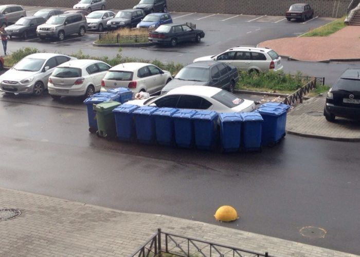 If You Park Like A Jerk There Will Be Consequences (4 pics)