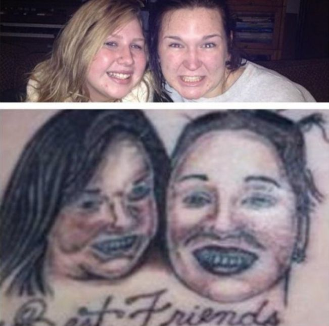 These People Definitely Weren't Expecting Their Tattoos To Turn Out Like This (14 pics)