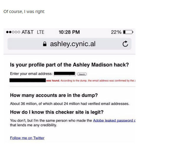 Woman Questions Her Cheating Ex About The Ashley Madison Hack (8 pics)