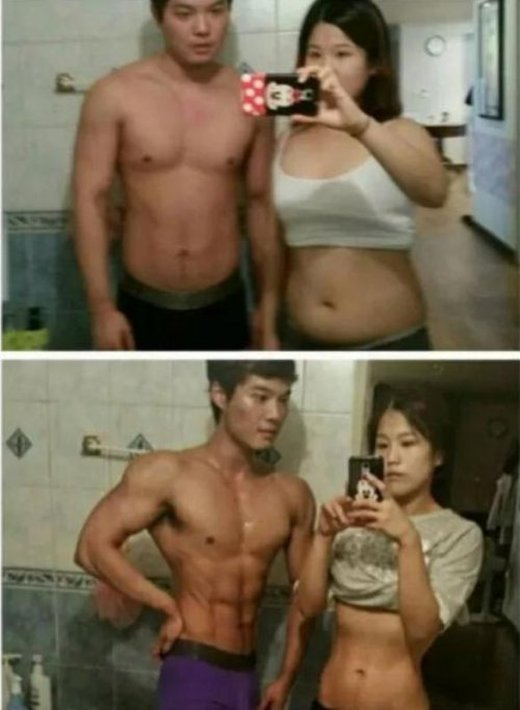 Couple Makes Incredible Weight Loss Transformation (5 pics)
